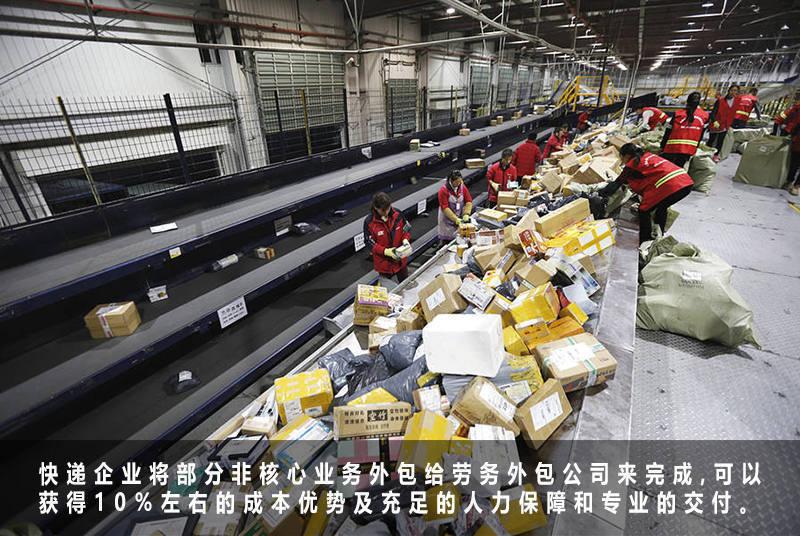 劳务外包公司快递业务外包案例解析
